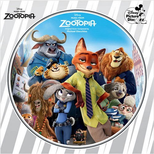 Michael Giacchino Music From Zootopia LP (Picture Disc)