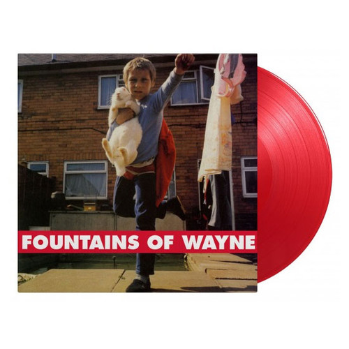 Fountains Of Wayne Fountains Of Wayne Numbered Limited Edition 180g Import LP (Transparent Red Vinyl)