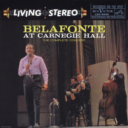 Harry Belafonte Belafonte At Carnegie Hall The Complete Concert (Analogue Productions) 180g 2LP