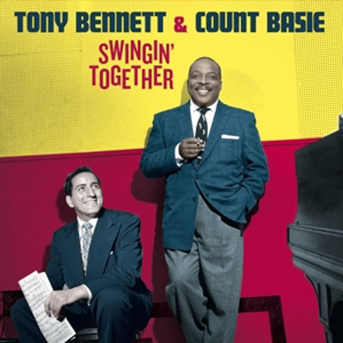 Tony Bennett & Count Basie Swingin' Together DMM 180g Import LP (Color Vinyl)