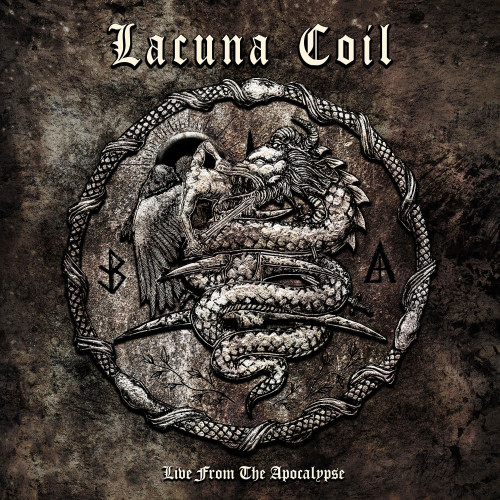 Lacuna Coil Live From The Apocalypse 2LP & DVD