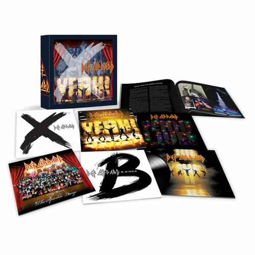 Def Leppard The Vinyl Boxset: Volume Three 180g 9LP Box Set