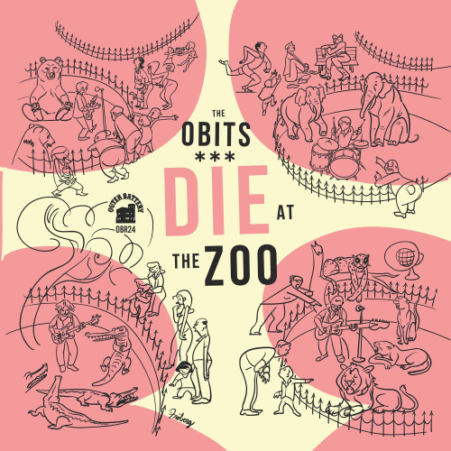 The Obits Die At The Zoo LP