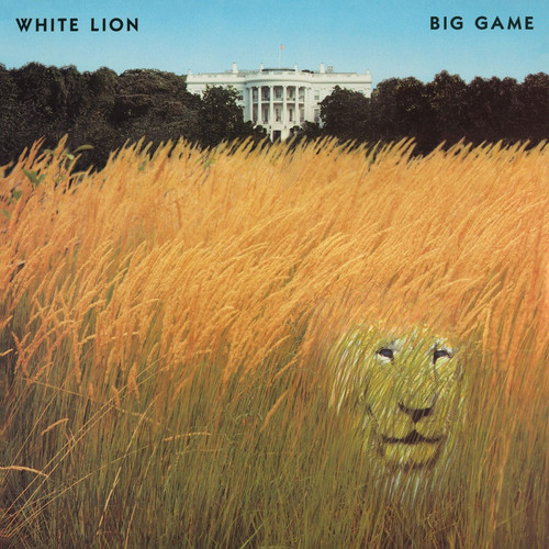 White Lion Big Game Numbered Limited Edition 180g Import LP (White Vinyl)