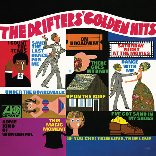 The Drifters The Drifters' Golden Hits 180g Mono LP