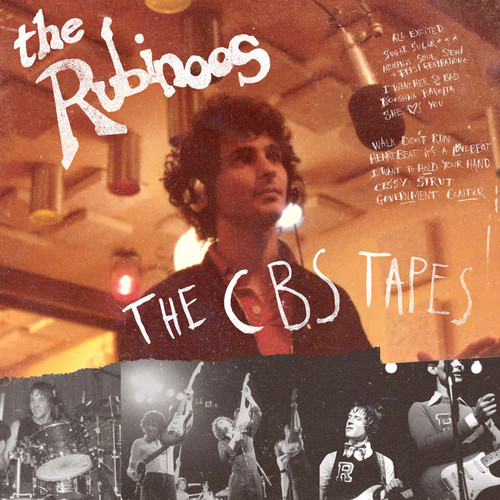 The Rubinoos The CBS Tapes LP (Red & Black Splatter Vinyl)