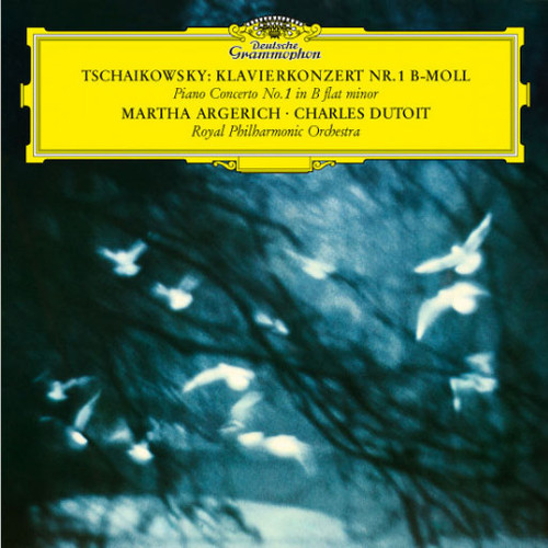 Martha Argerich, Charles Dutoit & Royal Philharmonic Orchestra Tschaikowsky: Piano Concerto No. 1 in B Flat Minor LP