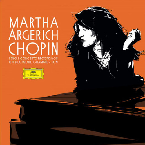 Martha Argerich Chopin: Solo & Concerto Recordings On Deutsche Grammophon Numbered Limited Edition 5LP