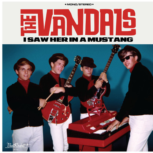 The Vandals I Saw Her In A Mustang LP (Ford Blue Vinyl)