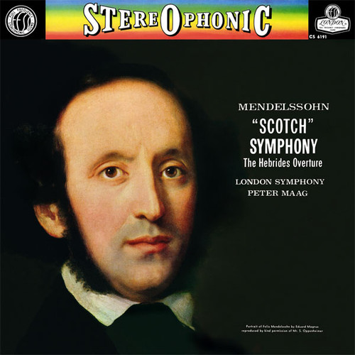 Mendelssohn Symphony No. 3 Low Numbered Limited Edition 180g 45rpm 2LP