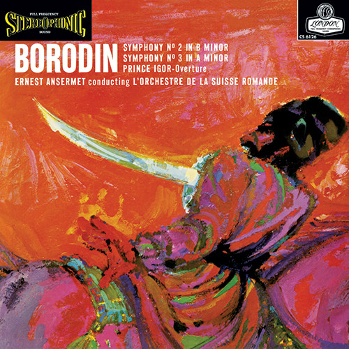 Borodin Symphonies Nos. 2 & 3 Low Numbered Limited Edition 180g 45rpm 2LP