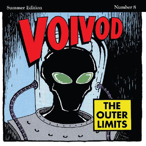 """Voivod The Outer Limits LP (""""Rocket Fire"""" Red with Black Smoke Vinyl)"""