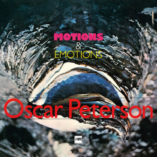 Oscar Peterson Motions & Emotions Numbered Limited Edition 180g LP (Blue Vinyl)