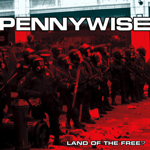 Pennywise Land Of The Free? (Anniversary Edition) LP (Red Vinyl)