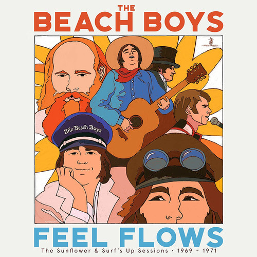 The Beach Boys Feel Flows: The Sunflower & Surf's Up Sessions 1969-1971 4LP