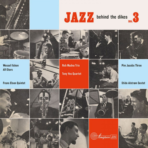 Jazz Behind The Dikes Vol. 3 Numbered Limited Edition 180g Import LP (Blue Vinyl)