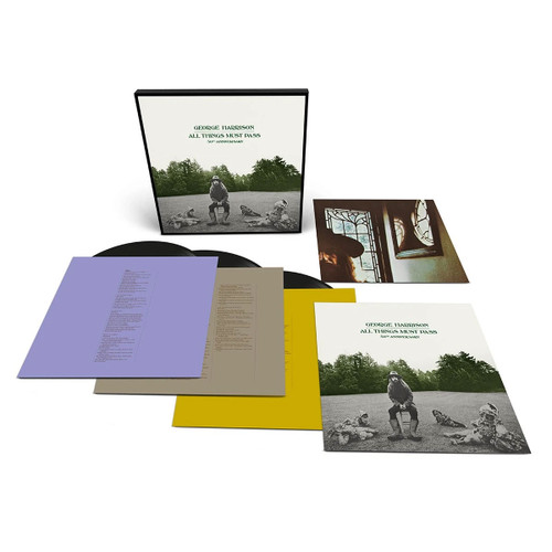 George Harrison All Things Must Pass 180g 3LP Box Set