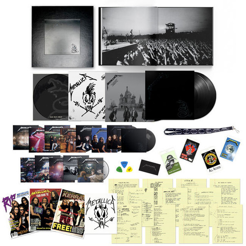 """Metallica Metallica (Deluxe Box Set) Numbered Limited Edition 180g 5LP/45rpm 12"""" Vinyl (Picture Disc)/14CD/6DVD Box Set"""
