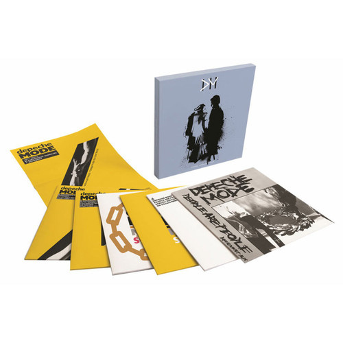 """Depeche Mode Some Great Reward - The 12"""" Singles (European Version) Numbered Limited Edition 45rpm 6Disc Box Set"""