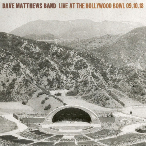 Dave Matthews Band Live At The Hollywood Bowl 09.10.18 Numbered Limited Edition 180g 5LP Box Set
