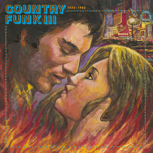Country Funk III (1975-1982) 2LP (Clear with Red & Blue Swirl Vinyl)