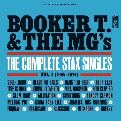 Booker T. & The MG's The Complete Stax Singles Vol. 2 (1968-1974) 2LP (Red Vinyl)