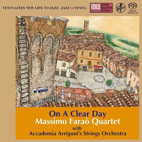 The Massimo Farao' Quartet On A Clear Day Single-Layer Stereo Japanese Import SACD