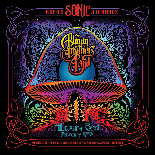 The Allman Brothers Band Bear's Sonic Journals: Fillmore East, February 1970 2LP (Pink Vinyl)