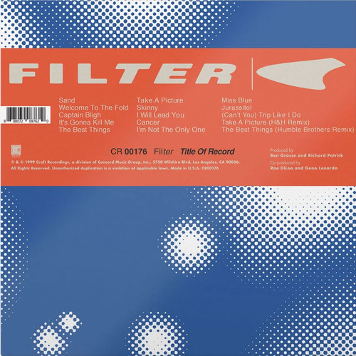 Filter Title Of Record 2LP