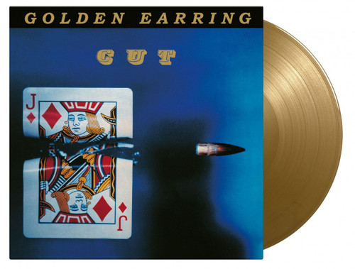 Golden Earring Cut Numbered Limited Edition 180g Import LP (Gold Vinyl)