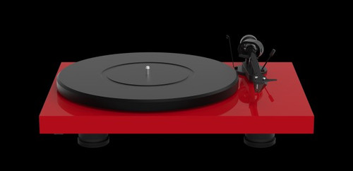 Pro-Ject Debut Carbon EVO with Sumiko Rainier MM Cartridge (High Gloss Red with Other Colors Available Upon Request)