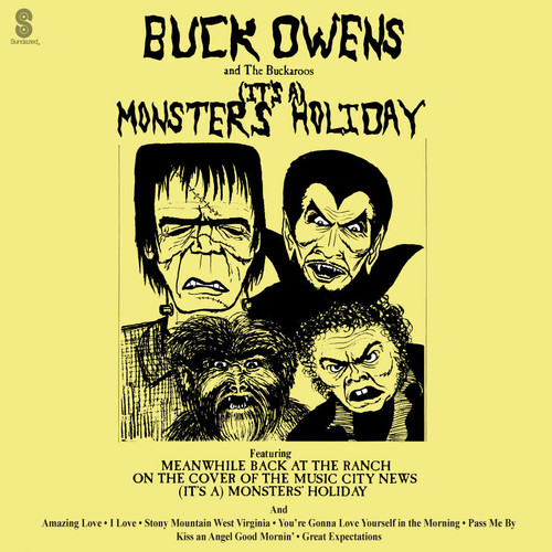 Buck Owens And The Buckaroos (It's A) Monsters' Holiday LP (Green Vinyl)