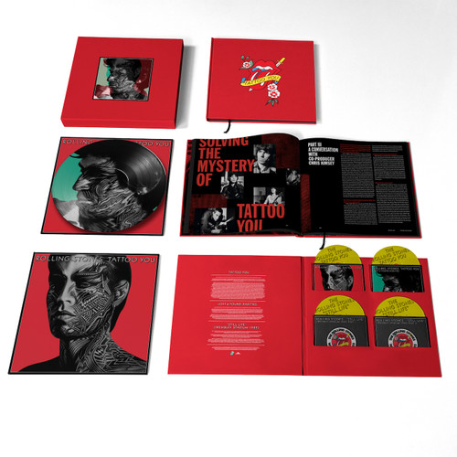 The Rolling Stones Tattoo You (2021 Remaster) 4CD & Vinyl Picture Disc Box Set