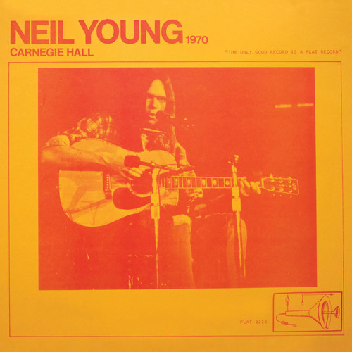 Neil Young Carnegie Hall 1970 2LP