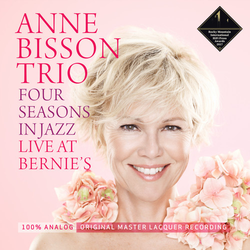 The Anne Bisson Trio Four Seasons In Jazz Live At Bernie's Hand-Numbered Limited Edition D2D 180g LP (Opaque Pink Vinyl)
