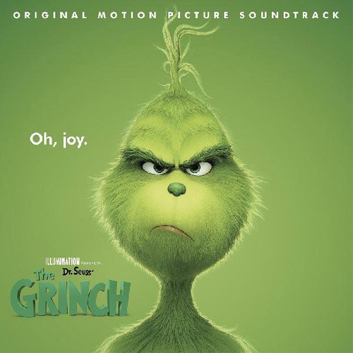 Dr. Seuss' The Grinch (Original Motion Picture Soundtrack) LP (Clear with Red & White Swirl Vinyl)