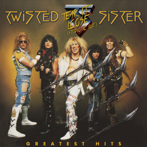 Twisted Sister Tear It Loose (Studio & Live): Greatest Hits 2LP (Translucent Red Vinyl)
