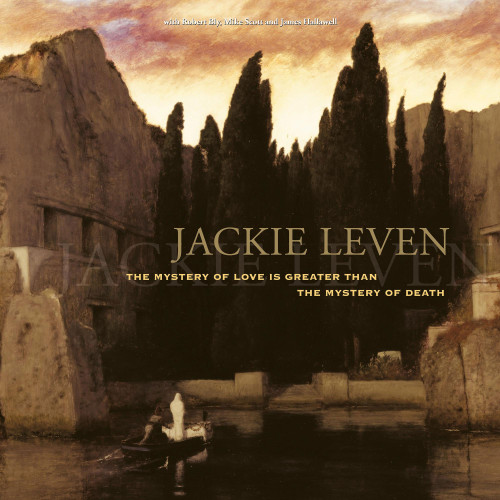 Jackie Leven The Mystery Of Love Is Greater Than The Mystery Of Death 2LP (Marbled Vinyl)