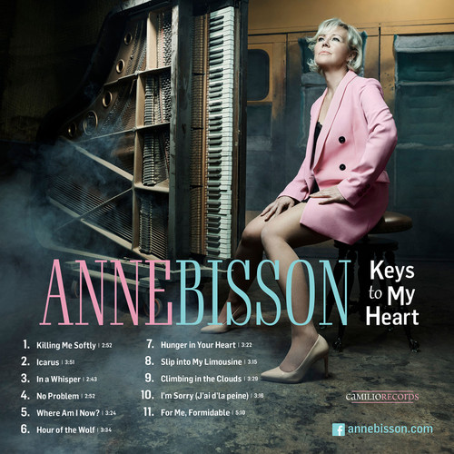 Anne Bisson Keys To My Heart Hand-Numbered Limited Edition Master Quality Reel To Reel Tape