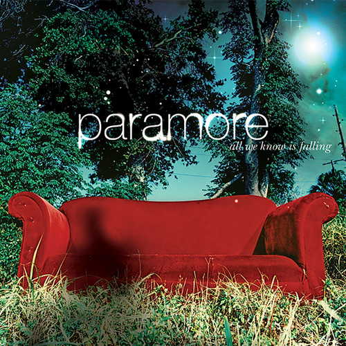 Paramore All We Know Is Falling LP (Silver Vinyl)