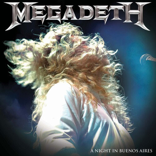 Megadeth A Night In Buenos Aires 3LP (Blue Vinyl)