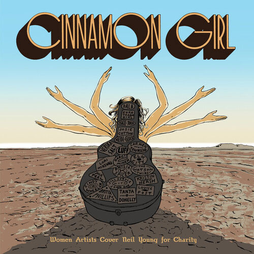Cinnamon Girl: Women Artists Cover Neil Young For Charity 2LP (Color Vinyl)