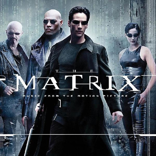 The Matrix (Music From The Motion Picture) 2LP (Clear with Red & Blue Swirl Vinyl)