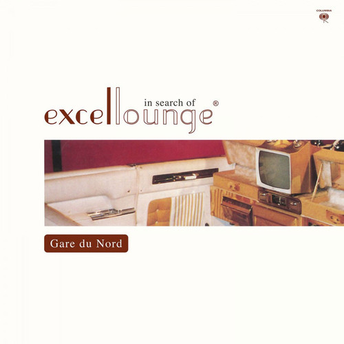 Gare Du Nord In Search Of Excellounge Numbered Limited Edition 180g Import LP (Crystal Clear & Turquoise Mixed Vinyl)