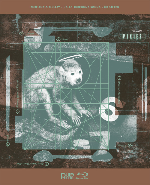 The Pixies Doolittle Blu-Ray Pure Audio Disc