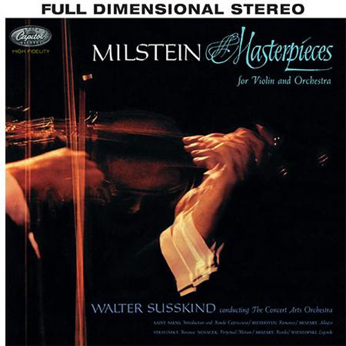 Nathan Milstein Masterpieces for Violin and Orchestra 200g LP