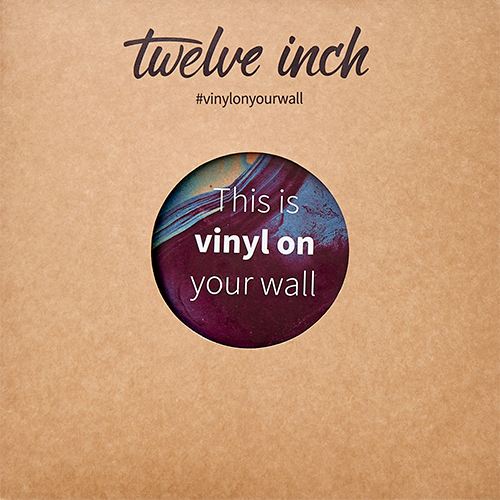 """Twelve Inch Invisible Display Bracket For 12"""" Vinyl Records (1 Each)"""