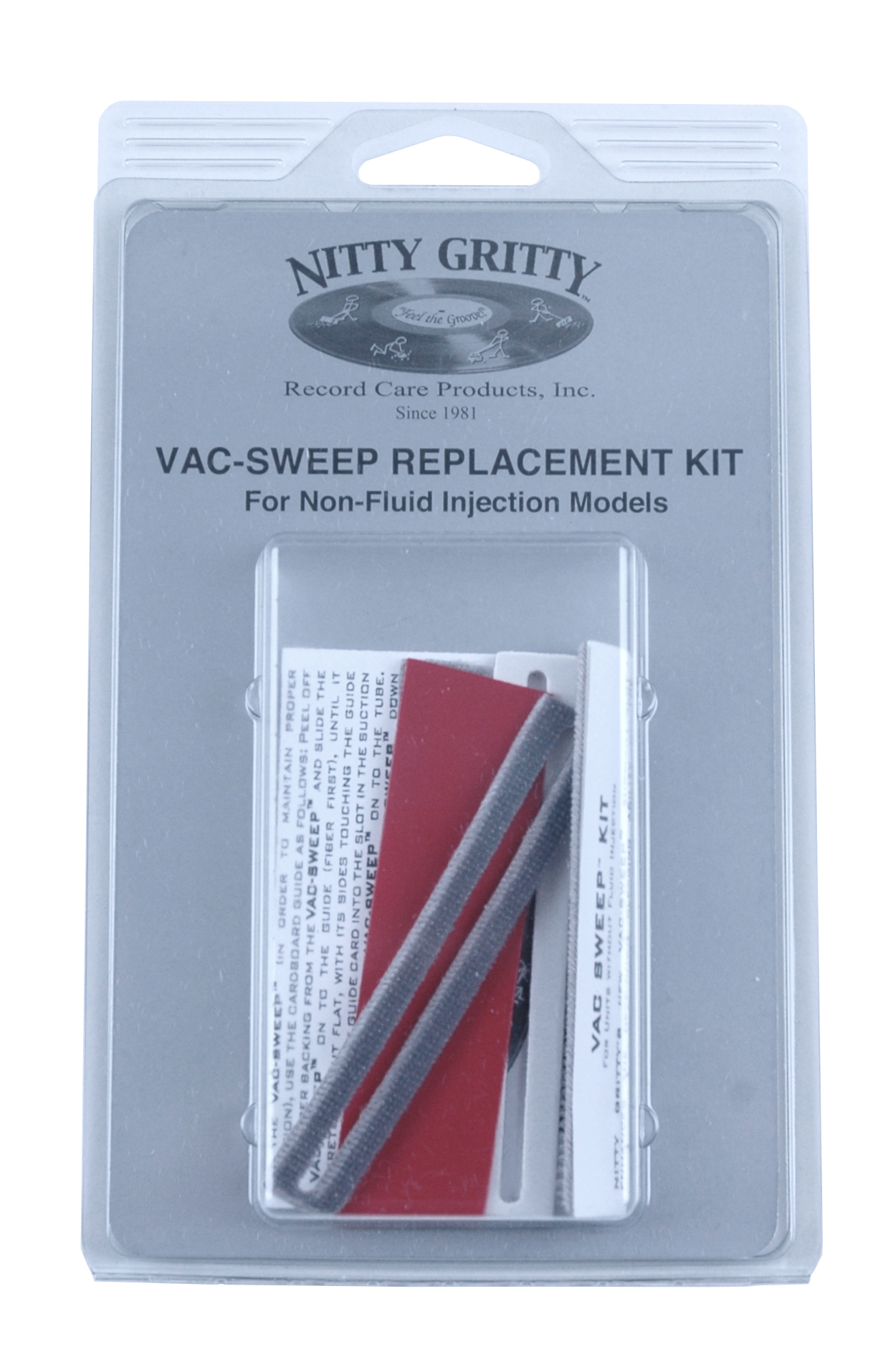 Nitty Gritty Vac-Sweep Replacement Kit (Non-Fluid Models Only) (4 Pack)