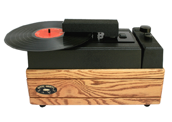 Nitty Gritty Mini-Pro 2 Record Cleaner (Solid Oak)