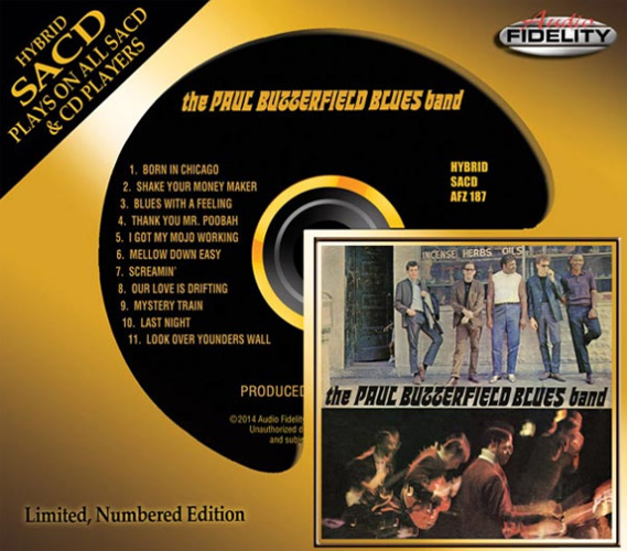 The Paul Butterfield Blues Band The Paul Butterfield Blues Band Numbered Limited Edition Hybrid Stereo SACD